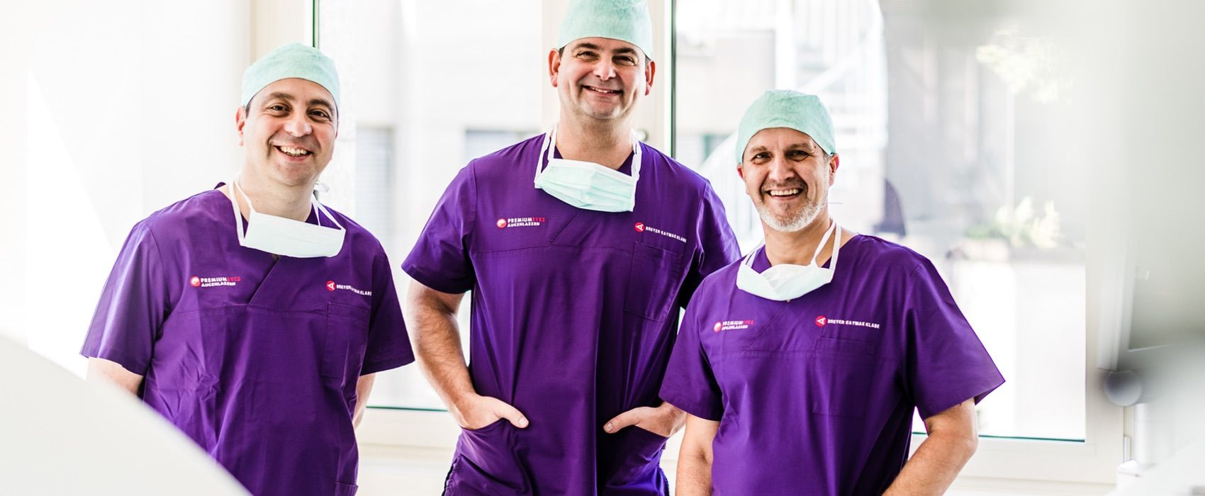 Dr. Breyer, Dr. Kaymak und Dr. Klabe