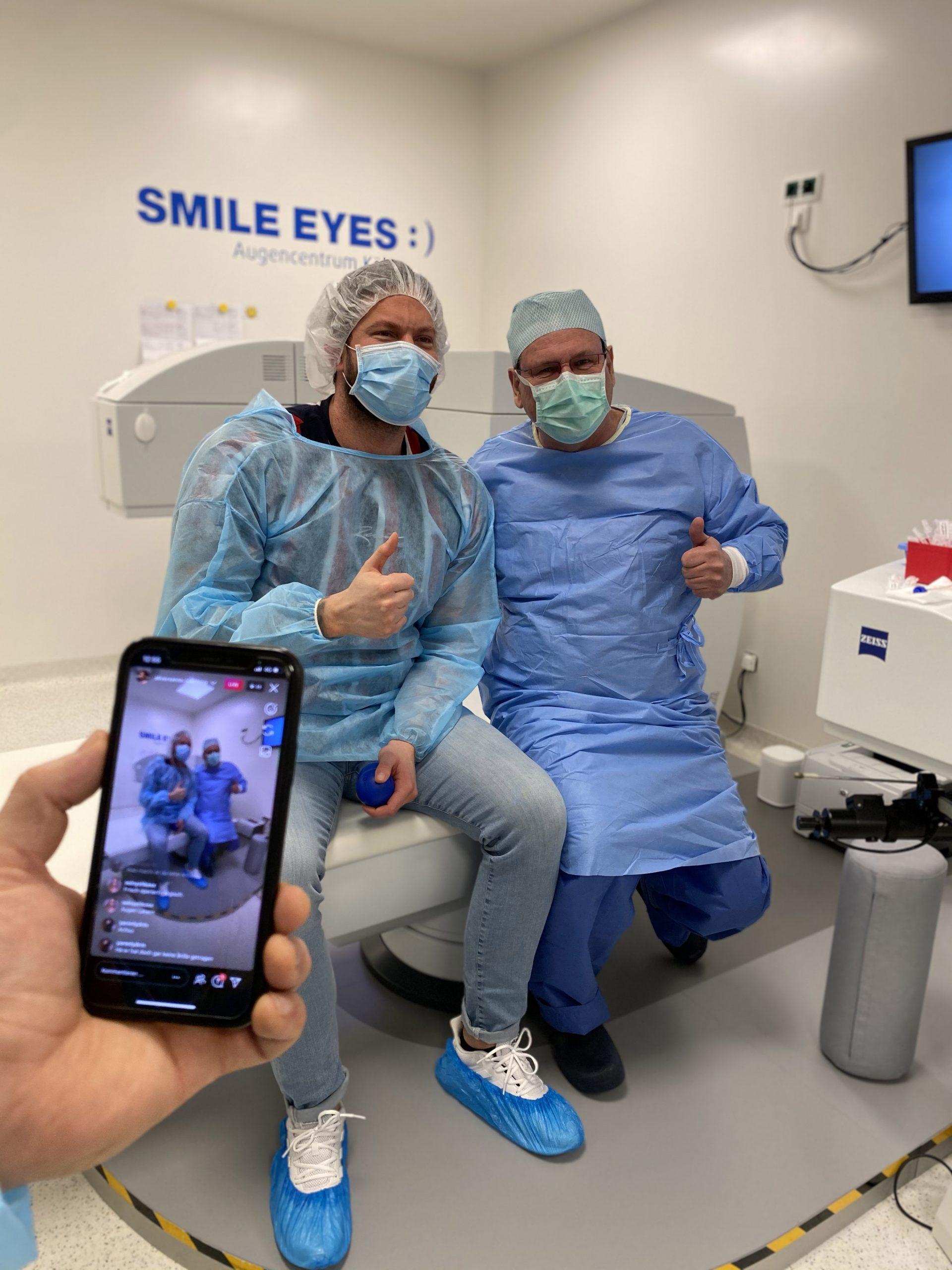 Minimal-invasive SMILE-OP